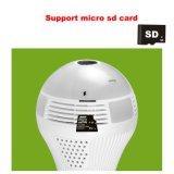 360 Vr HD Birnen-AusgangsÜberwachungskamera IP-intelligente LED