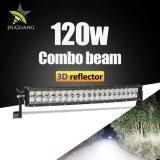 3D 120W 22pouces de gros boîtier en aluminium Barre lumineuse à LED