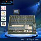 ディスコ装置のコントローラ1024チャネルDMX 512のコンピュータの照明コンソール