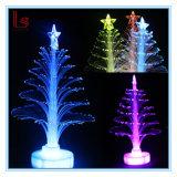 2018 LEIDENE van de Vezel van Kerstmis Decoratieve Lichte Optische Kerstboom