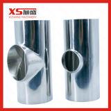 L'acciaio inossidabile SS304 sanitario SS316L mette il T in cortocircuito uguale