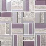 Preço baixo de ladrilhos de cerâmica mosaico de vidro de parede de cozinha