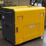 generatore silenzioso diesel del saldatore della saldatura di 5kw 8kVA 180A della macchina insonorizzata del generatore