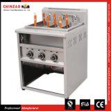 Vrij Bevindend Kooktoestel 6 Manden gzml-6 van de Deegwaren van de Machine van de Noedel van het Gas Kokend