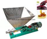 水、飲料、等のための漏斗が付いている産業鋼鉄モノラルポンプ
