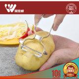 Плодоовощ напечатанный таможней нержавеющей стали ручной Vegetable Peeler