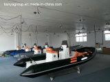 Gonflable rigide de Hypalon de bateau de Liya 4.3m-5.2m de bateau gonflable militaire de côte