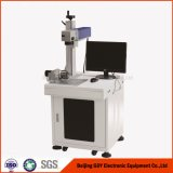 máquina de la marca del laser 30W con las estaciones multi para la soldadura de laser del ranurador del CNC de la marca del metal