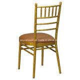 결혼식 임대료를 위한 경척증을%s 가진 Tiffany 알루미늄 쌓을수 있는 의자