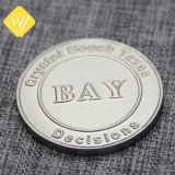 prix d'usine personnalisés Bitcoin Silver Coin pour cadeau souvenir