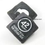 Fabrik Soem-Erzeugnis-kundenspezifisches Firmenzeichen gestickter gelber BaumwolltuchWristband