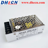 90-264VAC zu 24VDC 1.1A 25W Cer RoHS ERP der Schaltungs-Stromversorgungen-Hrsc-25-24 bescheinigt
