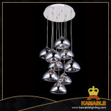 Heiße verkaufende dekorative Decken-hängende Lampe (MD4124R-9CH)