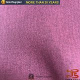 Polyester-kationisches Herringbone Tweed-Mustersuiting-Gewebe 100% für Kleid