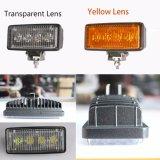 12W LED Arbeits-hellgelbes Weiß für Automobil-Beleuchtung
