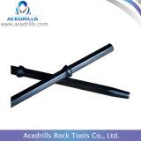 Foret Rod conique par partie lisse Drilling de trou de souffle de l'équipement de foret de roche H25*108mm
