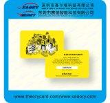 Fornitore visualizzante della scheda di nome di affari di plastica su ordinazione in Cina