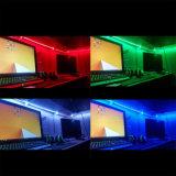 Larghezza IP20 3528 120 dell'interno LED di IP20 DC12V/24V 4.8W/M 8mm per indicatore luminoso di striscia dell'UL LED del tester
