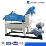 Aplicação do equipamento de mineração no recicl material