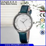 ODM de Polshorloges van de Dames van het Kwarts van het Horloge van de Riem van het Leer (wy-052B)