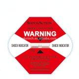 Het Etiket van het effect/de Indicator van de Schok van de Sticker voor de Controle van Schok