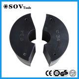 7-40mm 철강선 밧줄 유압 형철로 구부리는 기계 500t