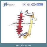 12kv Hrw10-12 alojados de polímero de recorte de la caja de fusibles de deserción de cerámica