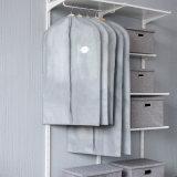De tecido de algodão Prensa Hanger Garment Saco com alças para Mens e sade