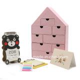 家のタイプまたは習慣ボックスまたは包装ボックスまたはギフト用の箱が付いているアートペーパーボックス