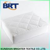 Cubierta de colchón impermeable de la sola del alambre de la tela escocesa pongis del poliester