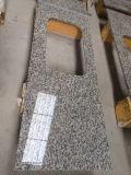 Countertop van het Graniet van de Huid van de tijger de Witte Countertop van de Keuken Bovenkant van de Staaf van Worktop