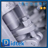 Нормальный вентиль стержня литой стали OS&Y Didtek поднимая