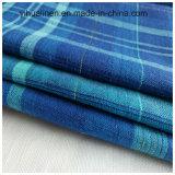 Baumwollleinen verwobenes gefärbtes Hemd-Gewebe