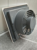 """De bonne qualité d'échappement tubulaire de plafond de 12""""/plastique du ventilateur de ventilation Ventilateur Ventilateur/mur/ventilateur électrique"""