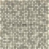 Mattonelle di mosaico di pietra di marmo naturali dei piccoli chip per il disegno interno