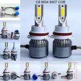 Kit C6 9004 dell'automobile faro dell'automobile delle 9007 PANNOCCHIE LED