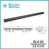 luz ao ar livre da arruela da parede do diodo emissor de luz 60W para a iluminação da paisagem (Slx-03)