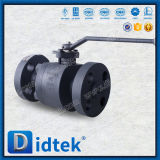 Válvula de esfera de alta pressão da flutuação A105 de Didtek
