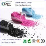 De Zwarte Kleur PC Gedragen Masterbatch van het plastic Materiaal voor het Vormen van de Injectie