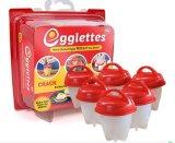 쉘 없는 Egglettes 계란 요리 기구 단단한 비등된 계란