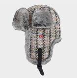 Chapéus do caçador da pele do falso da neve dos miúdos para a SK