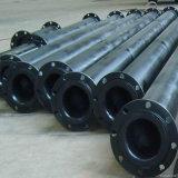 HDPE Bagger-Rohr für das ausbaggernde Meer, HDPE festes Wand-Rohr