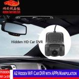 Carro escondido A2 DVR de WiFi com manipulação de Apps