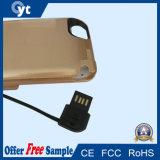Chargeur de cas de côté de pouvoir du cas 5000mAh de remplissage de batterie pour l'iPhone 6 7
