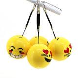 Crochet de suspension portable corde Cartoon Mignon haut-parleur Bluetooth Emoji pour sourire/ Kiss Fack /pleurer