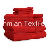Alta calidad, altamente absorbente 32s/2 Hotel hilo peinado de toalla, toallas de baño, Toalla de mano