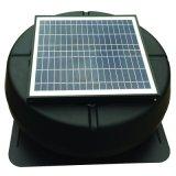 電池の太陽動力を与えられた換気扇なし