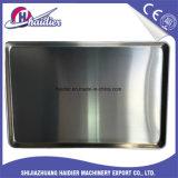 Pastel de galleta plana Industrial sartenes de aluminio pan bandeja para hornear.