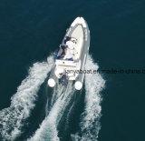 Barco de pesca de la consola de centro del material de casco de la fibra de vidrio de Liya los 5.2m