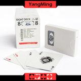 MOQ 5K Casino Jugar casino personalizado tarjeta negra/azul fabricante de papel de núcleo comercial personalizada tarjetas (YM-PC03)